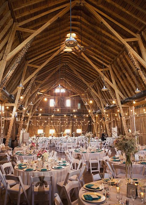Lluminate Your Day 72 Barn Wedding Lights Ideas