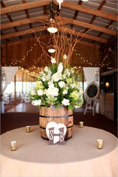 how to use barrels at your wedding 53 ideas. Black Bedroom Furniture Sets. Home Design Ideas