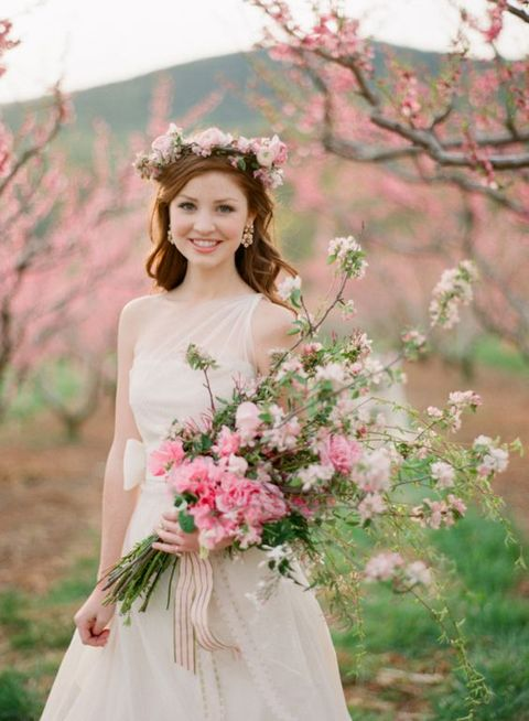 64 Soft And Gentle Cherry Wedding Ideas
