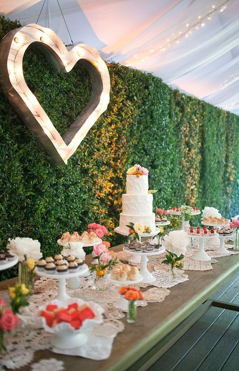 20 Beautiful Ways To Rock Hedges On Your Big Day