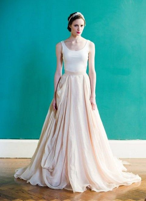 40 Ethereally Beautiful Ballerina-Inspired Wedding Gowns | HappyWedd.com