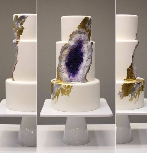 57 Trendy And Chic Geode Wedding Ideas HappyWeddcom