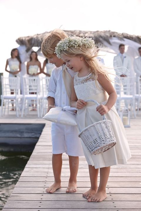 32 Touching And Cute Summer Flower Girls Looks