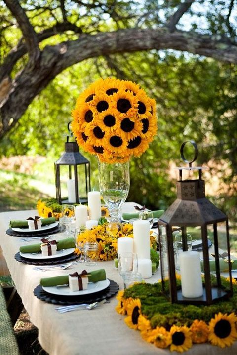 90 cheerful and bright sunflower wedding ideas happywedd 90 cheerful and bright sunflower wedding ideas junglespirit Gallery
