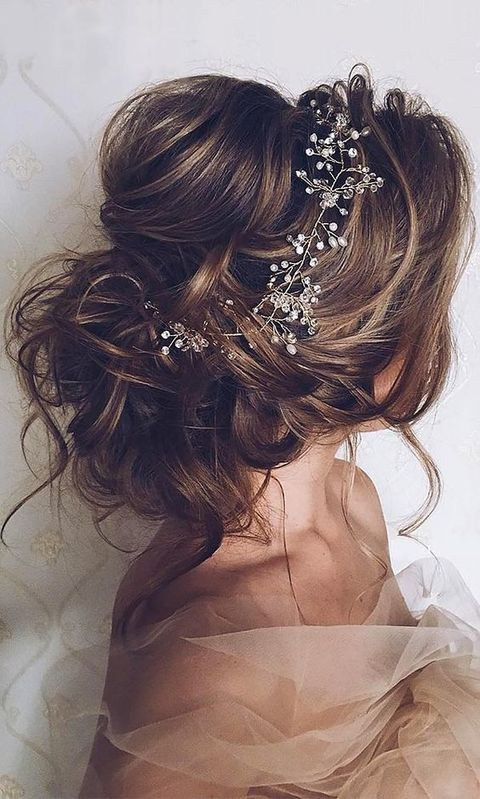 Messy Bridal Hair Ideas For Chic Brides Happywedd
