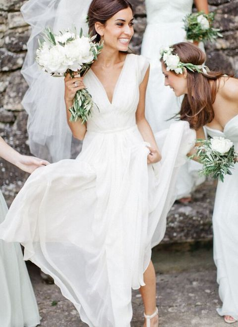 Outdoor Summer Wedding Dresses