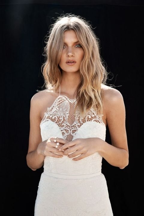 48 Trendy Halter Neckline Wedding Dresses