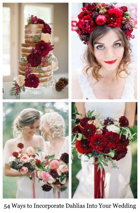 54 Ways to Incorporate Dahlias Into Your Wedding
