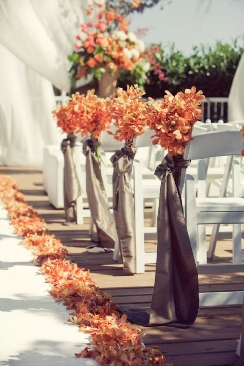 75 rustic fall wedding ideas you ll love for Autumn wedding decoration