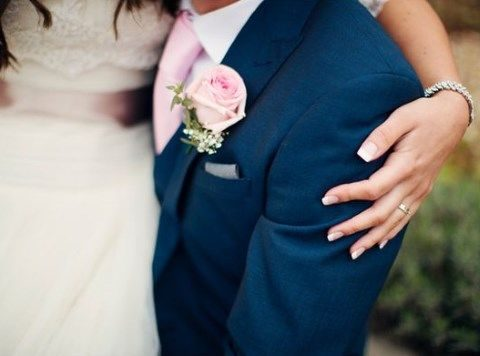 34 Elegant Navy And Blush Wedding Ideas Happywedd Com