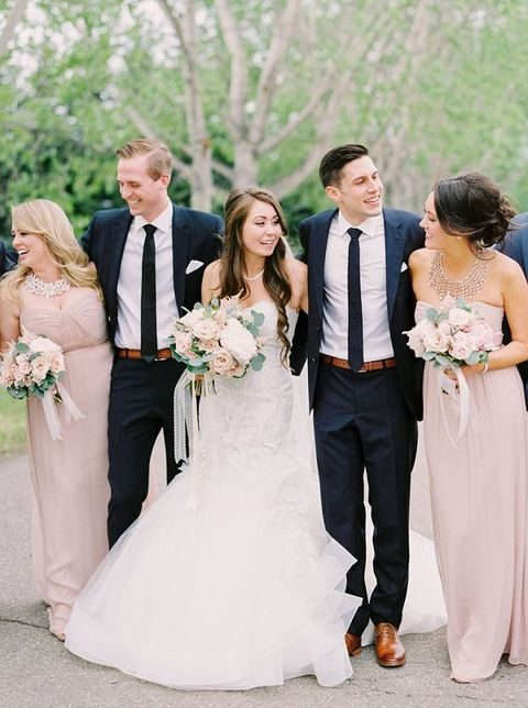 34 elegant navy and blush wedding ideas happywedd ian stuart bride by jess petrie junglespirit Image collections