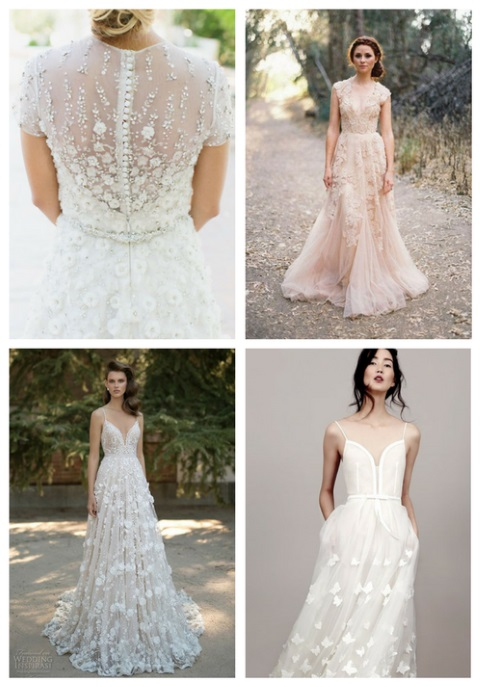 48 Gorgeous Applique Wedding Dresses