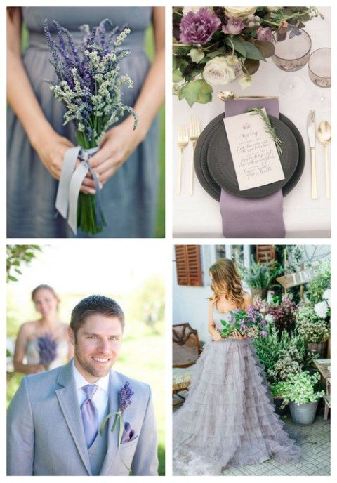 40 Grey And Lavender Wedding Ideas