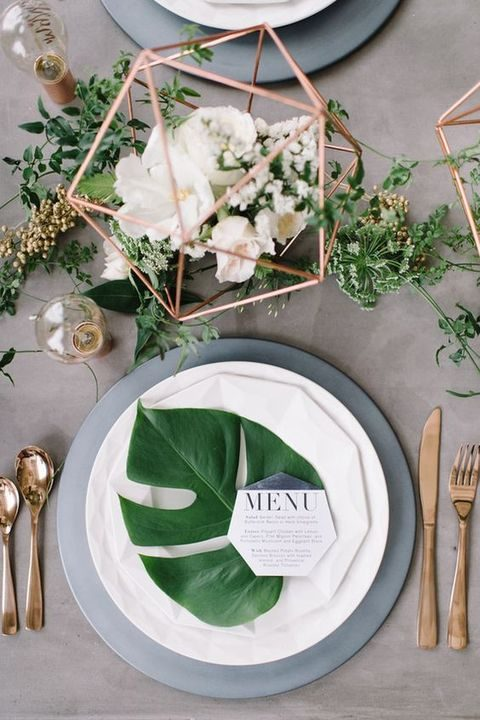 42 chic modern wedding decor ideas happywedd by chloe junglespirit Image collections
