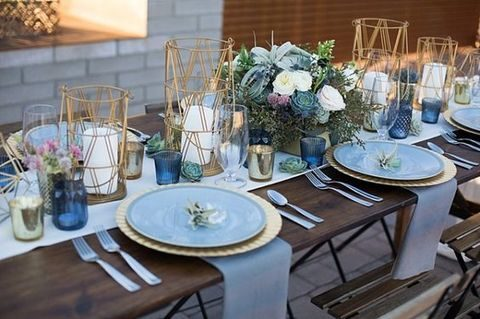 A Modern Wedding Decor