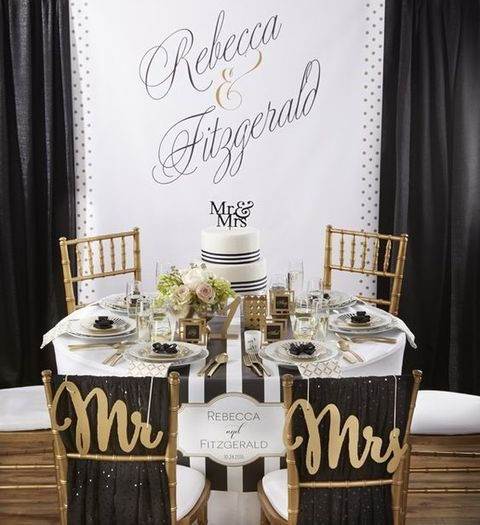 54 black white and gold wedding ideas happywedd junglespirit