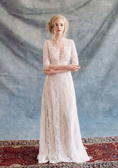 boho lace romantic dress