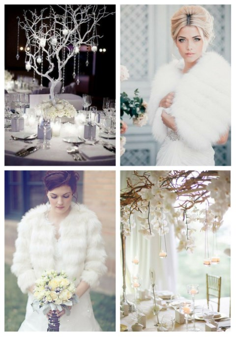 63 Exquisite White Winter Wedding Ideas