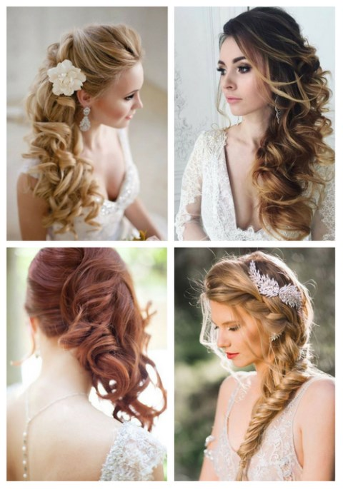 bridesmaid hairstyles side swept wwwpixsharkcom