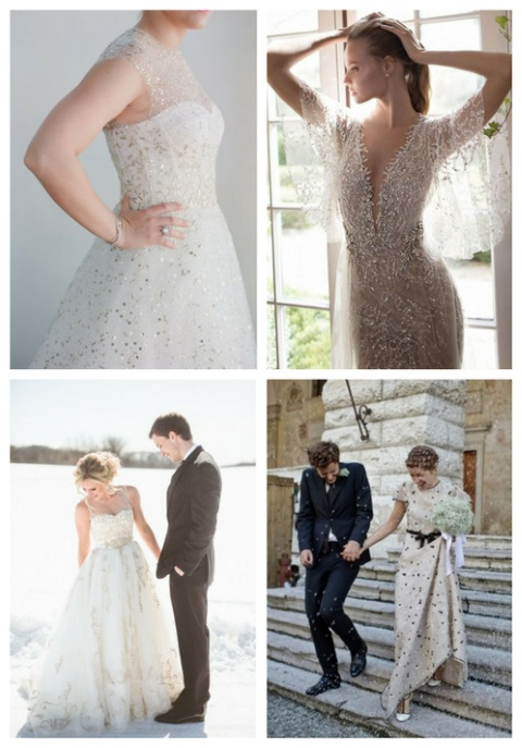 46 Utterly Romantic Snowy Wedding Dresses