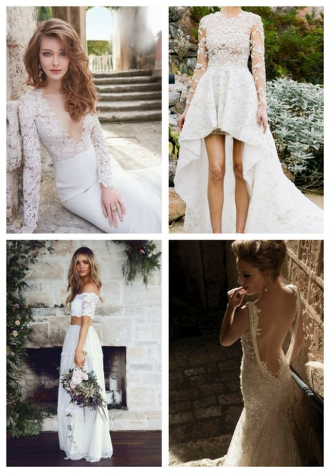 Types of sexy wedding dresses and examples happywedd 50 types of sexy wedding dresses and examples junglespirit Image collections