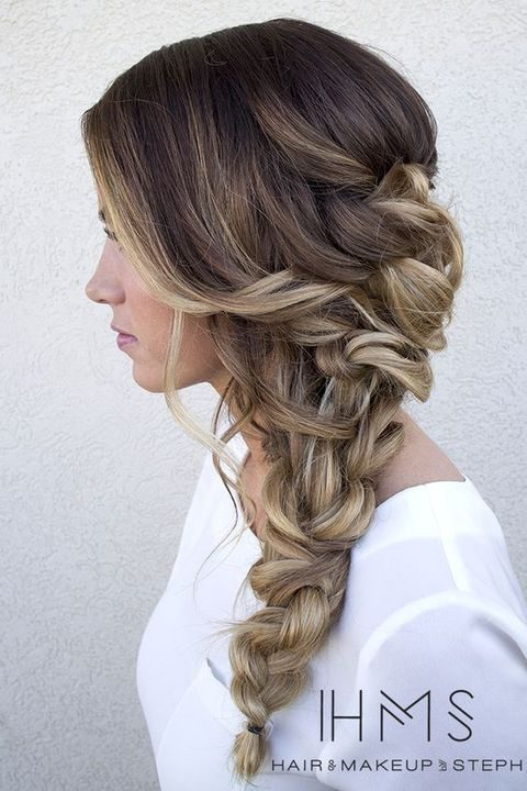 40 Gorgeous Side Swept Wedding Hairstyles Happywedd Com