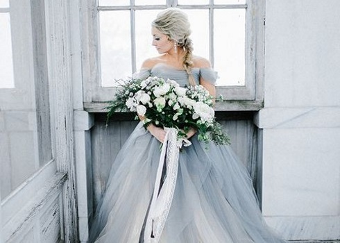 34 Refined Winter Grey Wedding Ideas