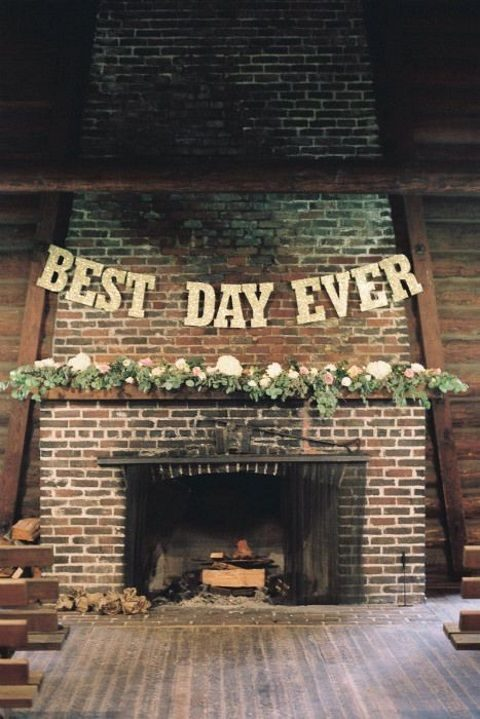 50 Wedding Fireplace Decor Ideas
