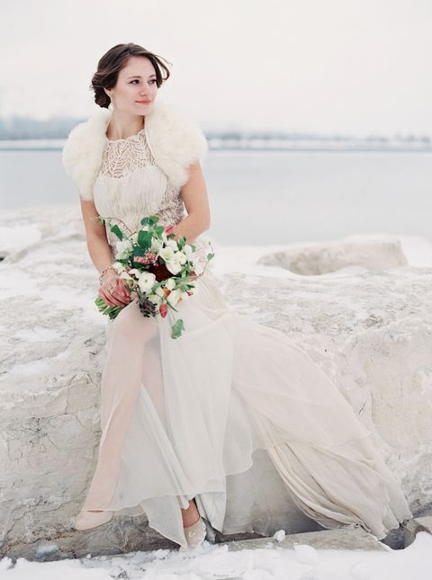 Beautiful Winter Bridal Looks That Inspire Happywedd Com