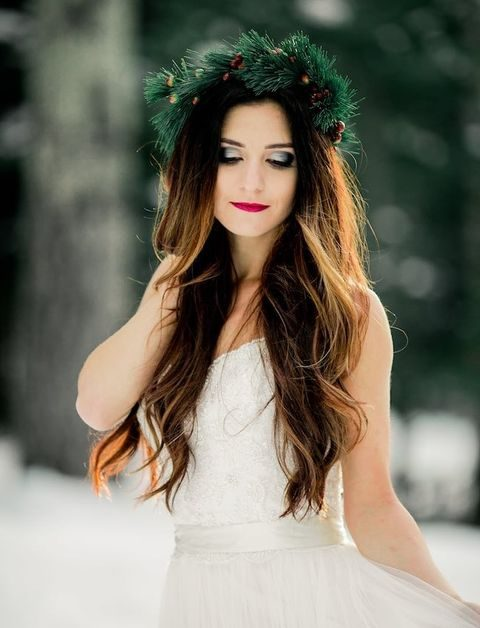 Winter Bridal Makeup Tips : Winter Wedding Makeup Guide: Tips And Ideas HappyWedd.com