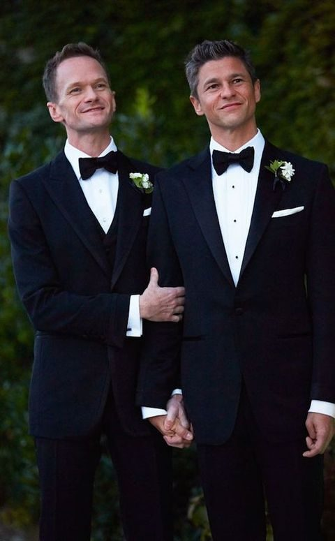 Groom Couple Outfits For Same Sex Weddings | HappyWedd.com
