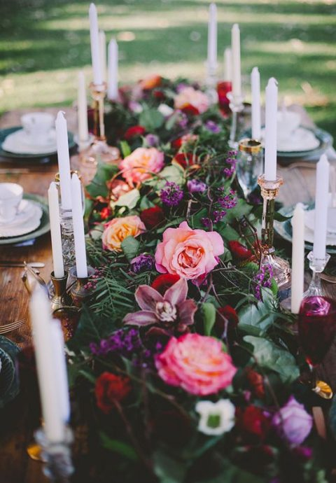 Lush floral wedding ideas that wow happywedd