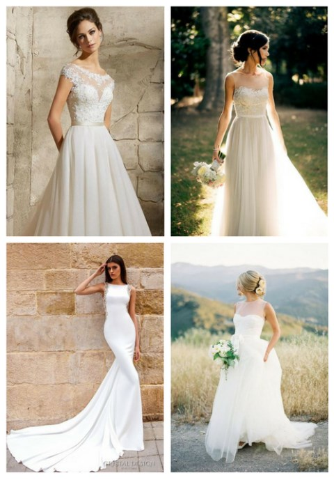 31 Elegant And Timeless Bateau Wedding Dresses