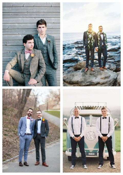 29 Groom Couple Outfits For Same Sex Weddings
