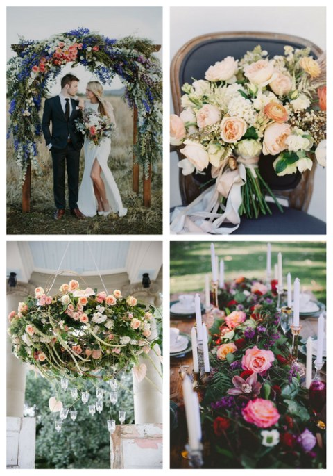 44 Lush Floral Wedding Ideas That Wow