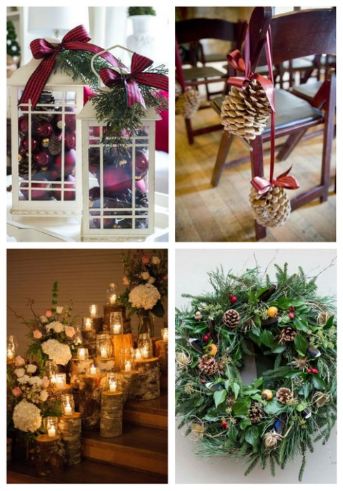 Winter wedding decorations that youll like happywedd 31 winter wedding decorations that youll like junglespirit Images