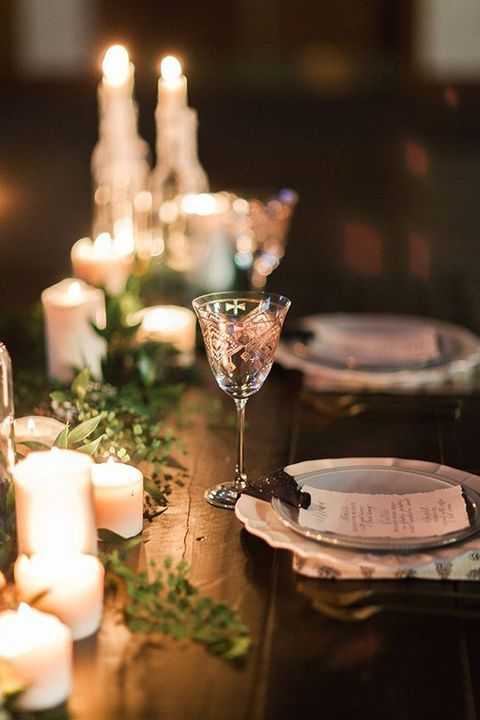 Stunning winter wedding lights happywedd