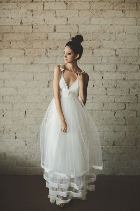 2608391644 38 Stunning Layered Tulle Wedding Dresses