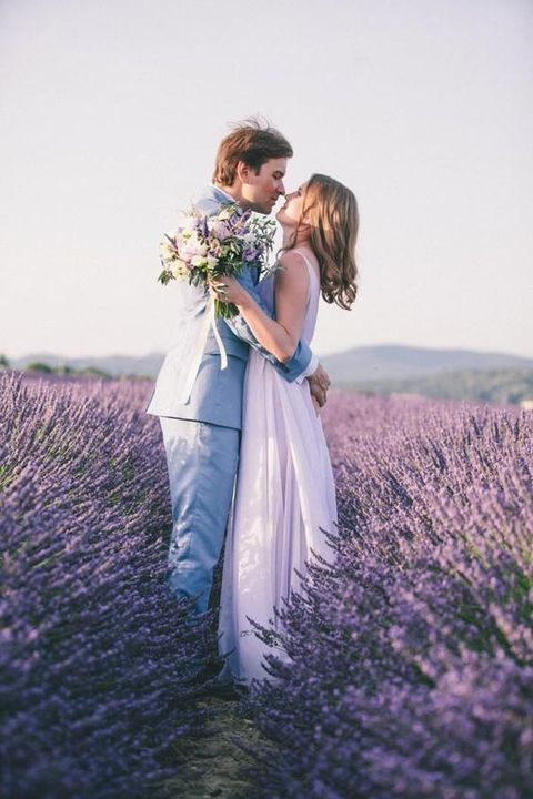 40 romantic lavender wedding ideas for Romantic places to get married