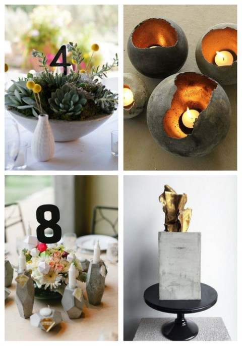 24 Trendy Concrete Wedding Ideas