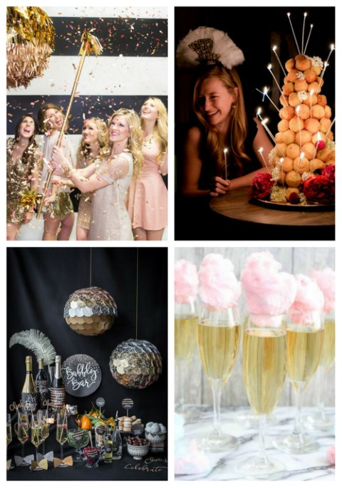 36 New Year's Eve Bridal Shower Ideas