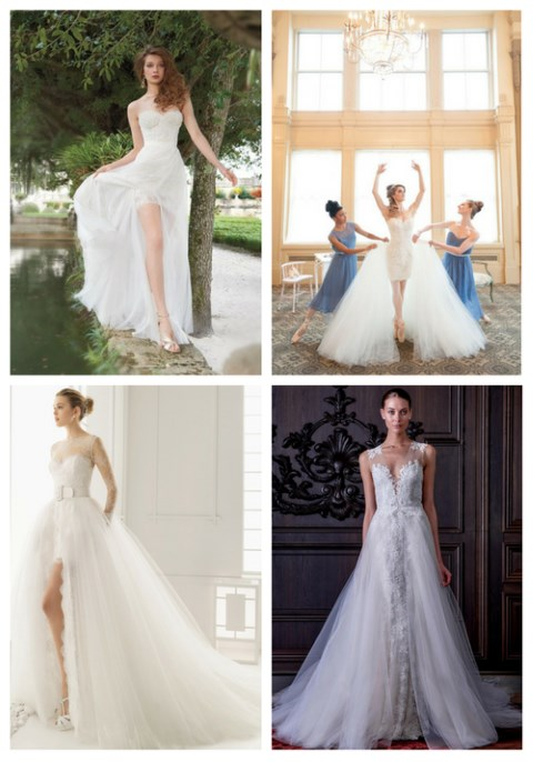 21 Smart Convertible Wedding Dresses