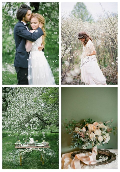 66 Breathtaking Spring Garden Wedding Ideas