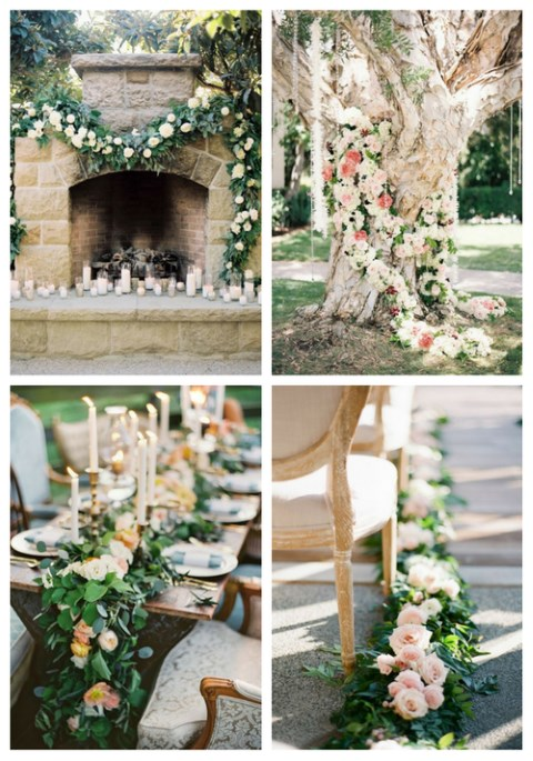 41 Refreshing Spring Wedding Garlands