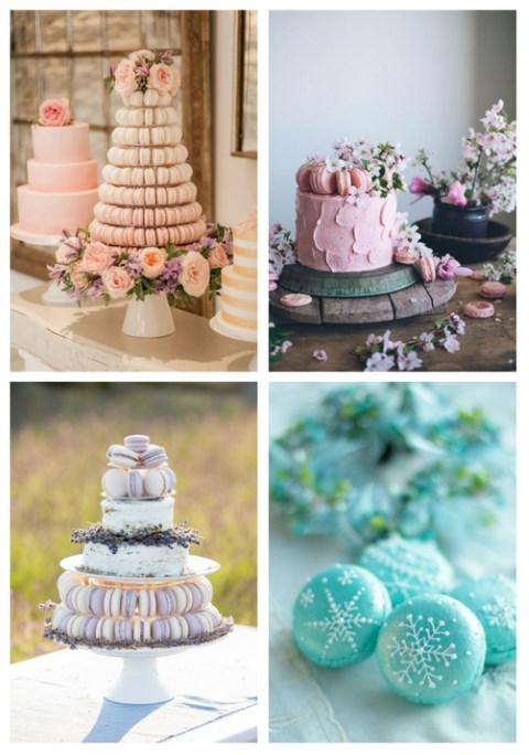38 Yummy Macaron Ideas For Your Wedding