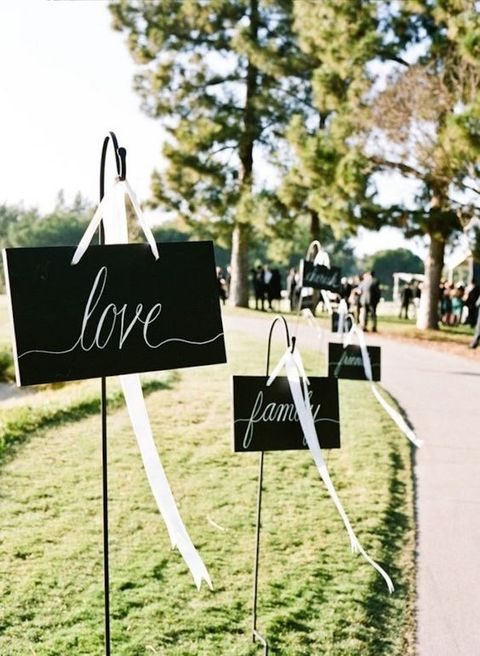 signs for a formal affair