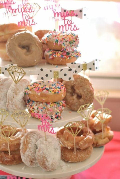donuts with cute toppers