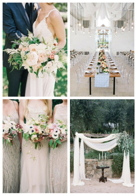 33 Beautiful Neutral Spring Wedding Ideas