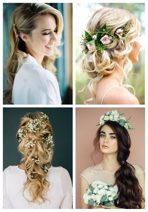 36 Inspiring Spring Wedding Hairstyle Ideas