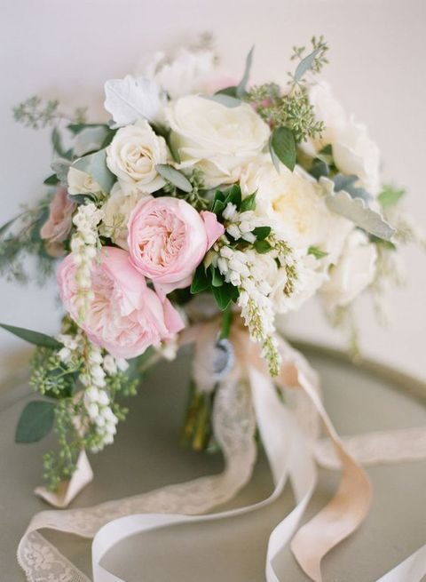 pretty spring blooms bouquet